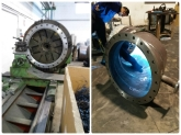fundición ductil, polietileno, PRFV, PVC extruido, hormigon, camisa de chapa y acero helicoidal
