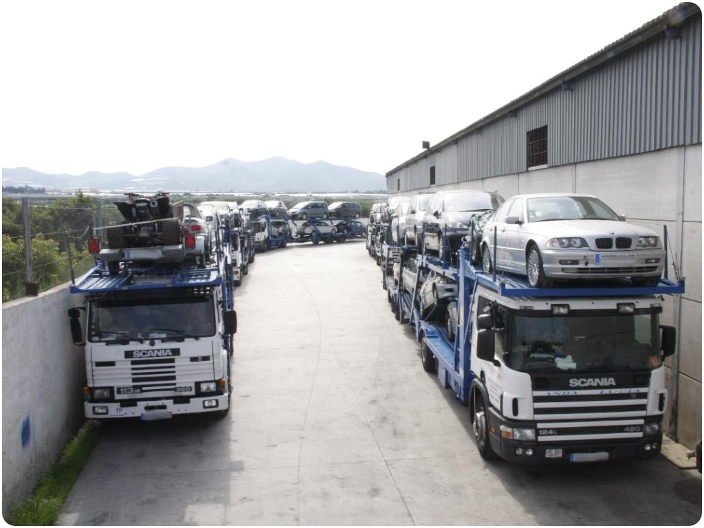 transporte de vehiculos internacional, transporte de vehiculos en españa,