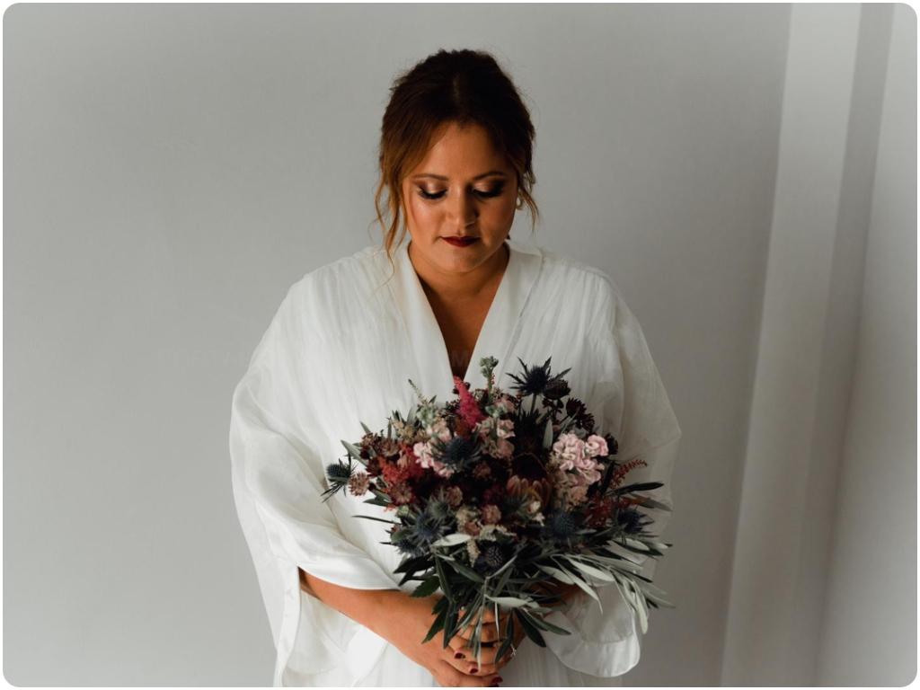 ramos vintage de novia en almuñecar, ramos de tallo largo de novia en almuñecar,