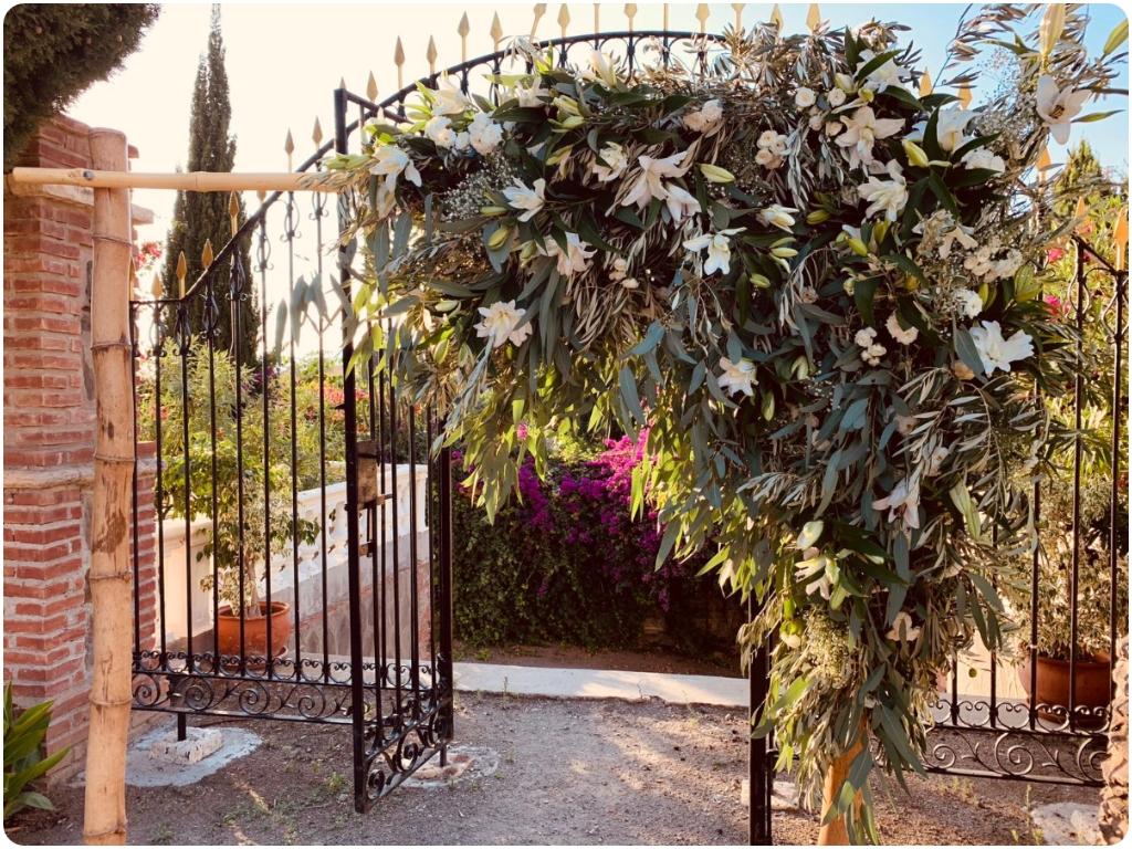 diademas florales en almuñecar, complementos florales en almuñecar, ramos nupciales en almuñecar