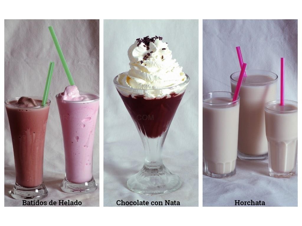 copas de helado en motril, leche rizada con canela en motril, copas de helado motril,