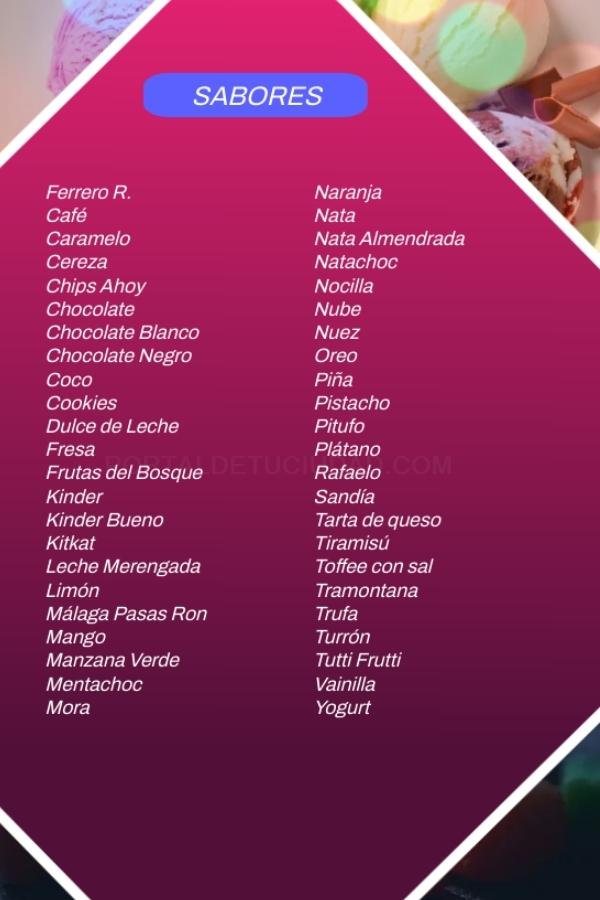 helados sin lactosa motril, helados sin azucar en motril, helados sin azucar motril,
