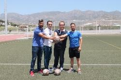El área de deportes organiza el II Campus de tecnificación de fútbol Villa de Salobreña