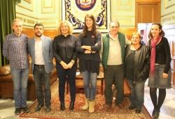 La atleta Ruth Beitia recibe el reconocimiento de la ciudad de Motril