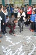 Toda la Comunidad Educativa del ÍES Nazarí celebra el Día de la Paz