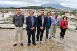 Benamaurel recibirá inversiones por valor de 732.000 euros con los programas concertados con Diputación