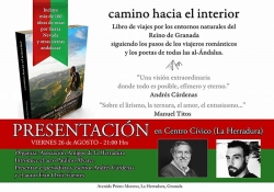 El acto, organizado por los Amigos de La Herradura, será presentado por el periodista Andrés Cárdenas