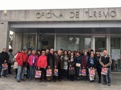 La Asociación de Alumnos Mayores de la Universidad de Granada (UNIGRAMA) visita Motril en un FAMTRYP
