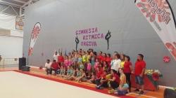 Más de 200 gimnastas se dan cita en el I Campeonato de Gimnasia Rítmica Ciudad de Órgiva