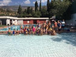 Órgiva clausura la XXVIII edición de la Campaña de Natación con la participación de 200 niños y niñas