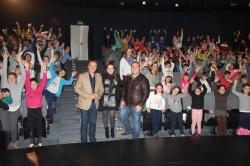 ALREDEDOR DE 250 ESCOLARES GRANADINOS PARTICIPAN EN LA FERIA DEL JUEGO Y DEL JUGUETE QUE SE HA CELEBRADO HOY EN SALOBRENA