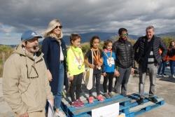 El III cross escolar SAT Campos de Granada de Torrenueva congregó a 400 atletas de todas las edades