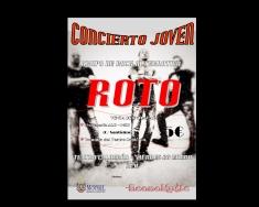 El grupo de rock alternativo ROTO retoma este viernes el Ciclo de Conciertos Jóvenes 'Música en Directo' en el Teatro Calderón