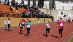 Gran expectación en la segunda semifinal de los XXII Juegos Escolares de Atletismo en Pista