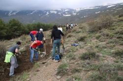 Recuperan la acequia de la Cabañuela en Jérez del Marquesado después de 15 años
