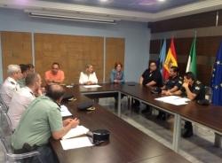 La Junta Local de Seguridad de Almuñécar prepara el operativo para la Fiesta de San Juan y la Operación Verano