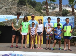 EL PMD Almuñécar clausuró las Escuelas Deportivas Municipales en el parque acuático
