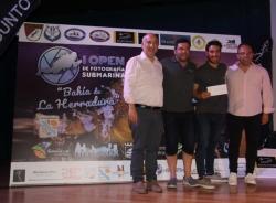 """Rafael Fernández Caballero y Óscar Luna Romero ganan el I Open de Fotografía Submarina """"Bahía de La Herradura"""""""