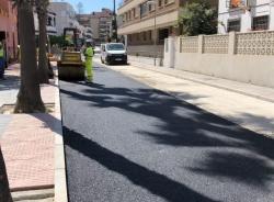 Las obras en la vía pública de Almuñécar y La Herradura hacen un alto esta semana