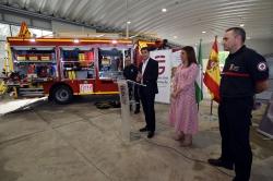 Diputación proporciona un nuevo vehículo de rescate en accidentes de Tráfico al Parque Norte de Bomberos de Granada