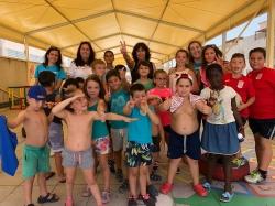 Más de 100 niños y niñas participan en Albuñol en la segunda edición del Campamento EmociónArte
