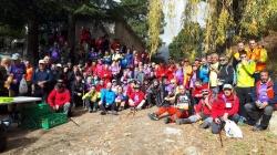 Más de 150 senderistas recorren los senderos de cuatro municipios en la X Marcha Popular de la Alpujarra