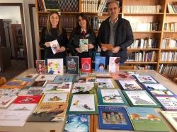 """""""La Mochila Violeta"""" llega cargada de libros a las bibliotecas de 40 municipios de la provincia"""