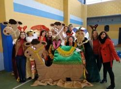 Los centros infantiles de Almuñécar se adelantan para celebrar la Navidad