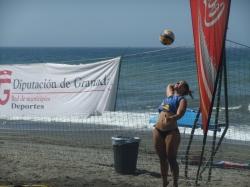 Las playas granadinas se vuelcan con el XXV Circuito Voley Playa de la Costa Tropical