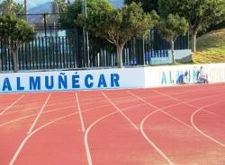 """El estadio municipal """"Francisco Bonet"""" de Almuñécar se prepara para acoger la prueba de fondo """"Trópico de Europa"""""""