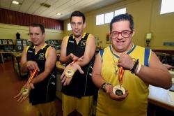 Tres usuarios del Centro Ocupacional Reina Sofía se proclaman ganadores del Campeonato de España de Baloncesto FEDDI 2019