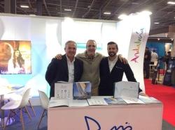 El Grupo Marinas del Mediterráneo promocionará sus más de 1.000 puntos de atraque  en el Salón Náutico de París