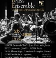 Almuñécar acoge el domingo día 26 la presentación de Mediterranean Brass Ensemble
