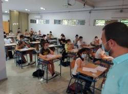 Casi un centenar de alumnos realizan los exámenes de acceso a la Universidad en Almuñécar