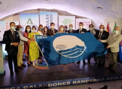 Almuñécar acoge el acto oficial de entrega de Banderas Azules en un año récord para Andalucía