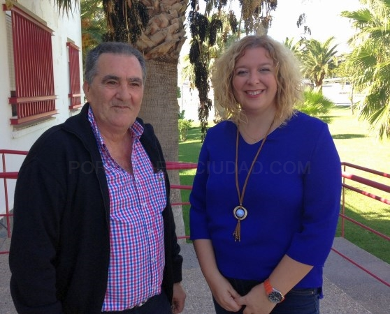 Flor Almón y Antonio Escámez avanzan en Sevilla el desbloqueo de proyectos importantes