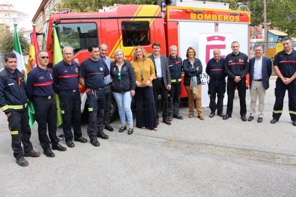El Parque de Bomberos de Motril adquiere un nuevo vehículo autobomba a través del Consorcio Provincial