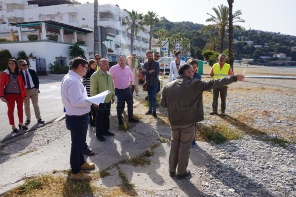 Luz verde al inicio de las obras de remodelación del Paseo Marítimo de La Herradura.