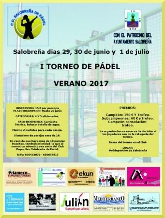 I TORNEO DE PADEL DE SALOBREÑA