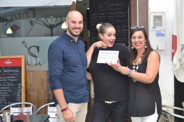 Nota 22 y La Sastrería reciben sus premios como ganadores de la I Ruta de la Tapa de Motril