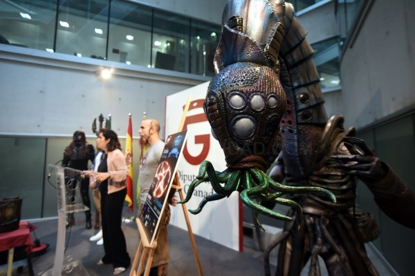 Ítrabo se transforma este fin de semana en escenario alienígena con la 'Lovecraft World'
