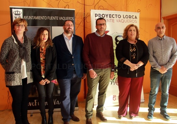 Más de 350 niños de cinco colegios participan en la primera jornada del proyecto Lorca en Fuente Vaqueros