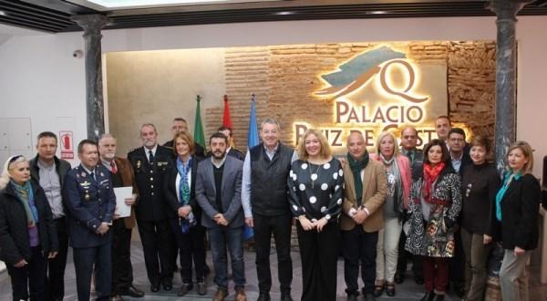 Motril rinde homenaje a la Constitución en un acto institucional celebrado en el Palacio Ruiz de Castro