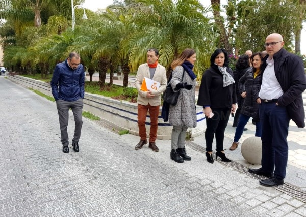 CIUDADANOS MUESTRA SU RECHAZO AL PROYECTO DE DOBLE CARRIL EN EL PASEO DEL ALTILLO DE ALMUñéCAR