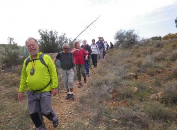 El grupo de Senderismo del PMD Almuñécar realizará este domingo ruta por tierras almerienses