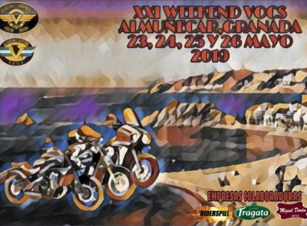 Casi 200 motos Vulcan Kawasaki se concentran este fin de semana en La Herradura y Almuñécar