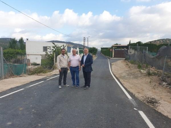 Diputación invierte 76.000 euros en la mejora de espacios públicos y la pavimentación de un camino en Campotéjar