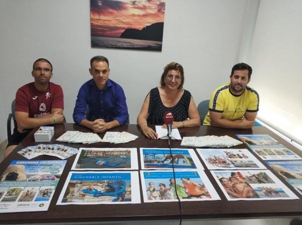 CONCEPCIóN ABARCA PRESENTA EL 'SPORTS FESTIVAL' QUE SE CELEBRARá EL PRóXIMO 11 DE AGOSTO EN CARCHUNA - CALAHONDA