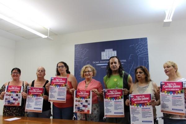 EL BARRIO DE CERRILLO JAIME DE MOTRIL CELEBRA SUS FIESTAS ESTE PRóXIMO FIN DE SEMANA