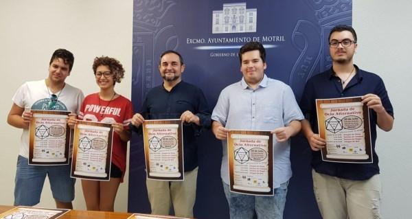 LA ASOCIACIóN JUVENIL DRAGON STONE PRESENTA SU PRIMERA JORNADA DE OCIO ALTERNATIVO EN MOTRIL